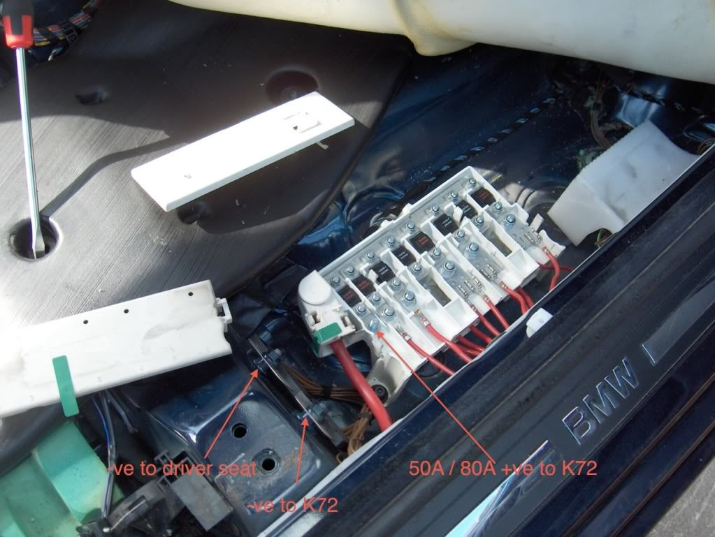 Need help with location of the fuse boxs and overview of fuse positions for  528i? | Page 2 | Bimmerfest BMWBimmerfest