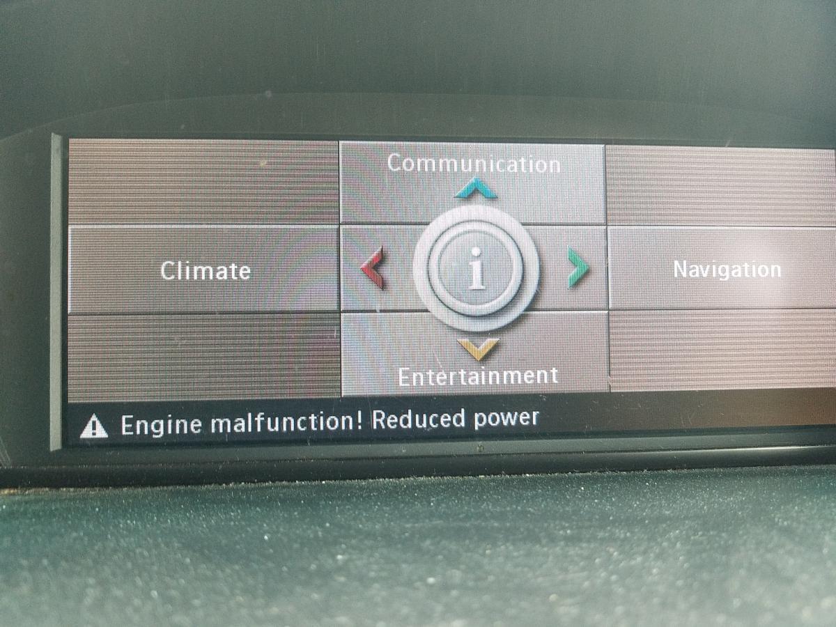 Engine Malfunction, Reduced Power - Bimmerfest - BMW Forums