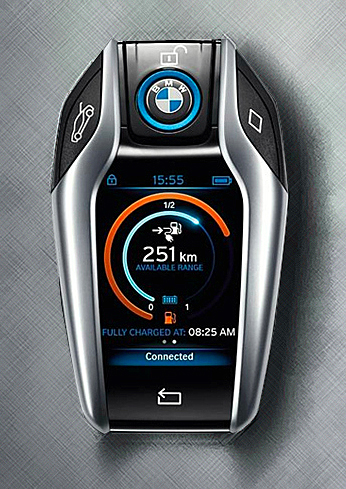 Does The Bmw I8 Have The Coolest Key Fob Ever Bmw News At