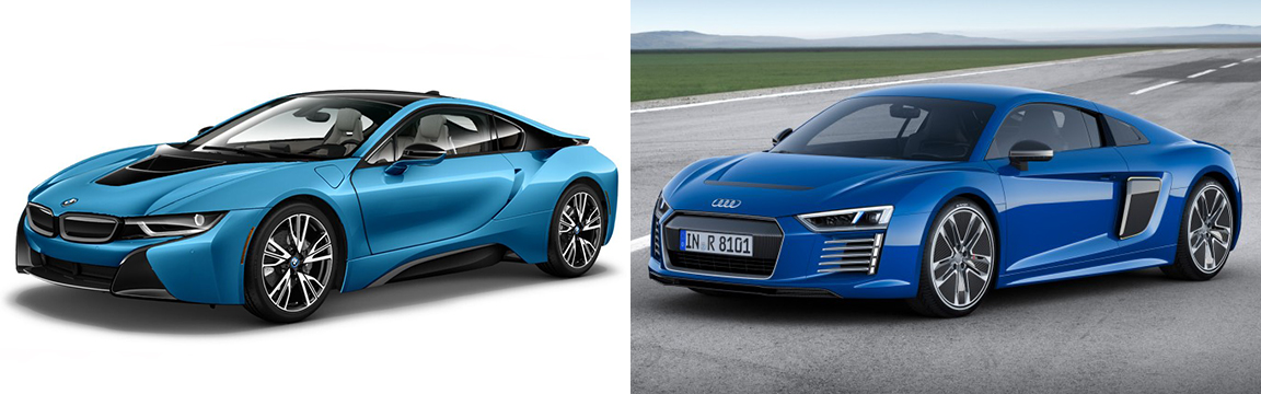Bmw I8 Vs New Audi R8 Etron Bmw News At Bimmerfest Com