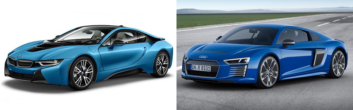 Bmw I8 Vs New Audi R8 Etron Bimmerfest Bmw Forum