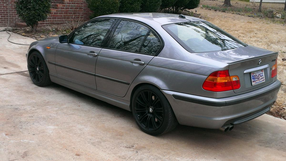 Coupe Series 2001 bmw 325i tire size Plasti Dip attacked my wheels - Bimmerfest - BMW Forums