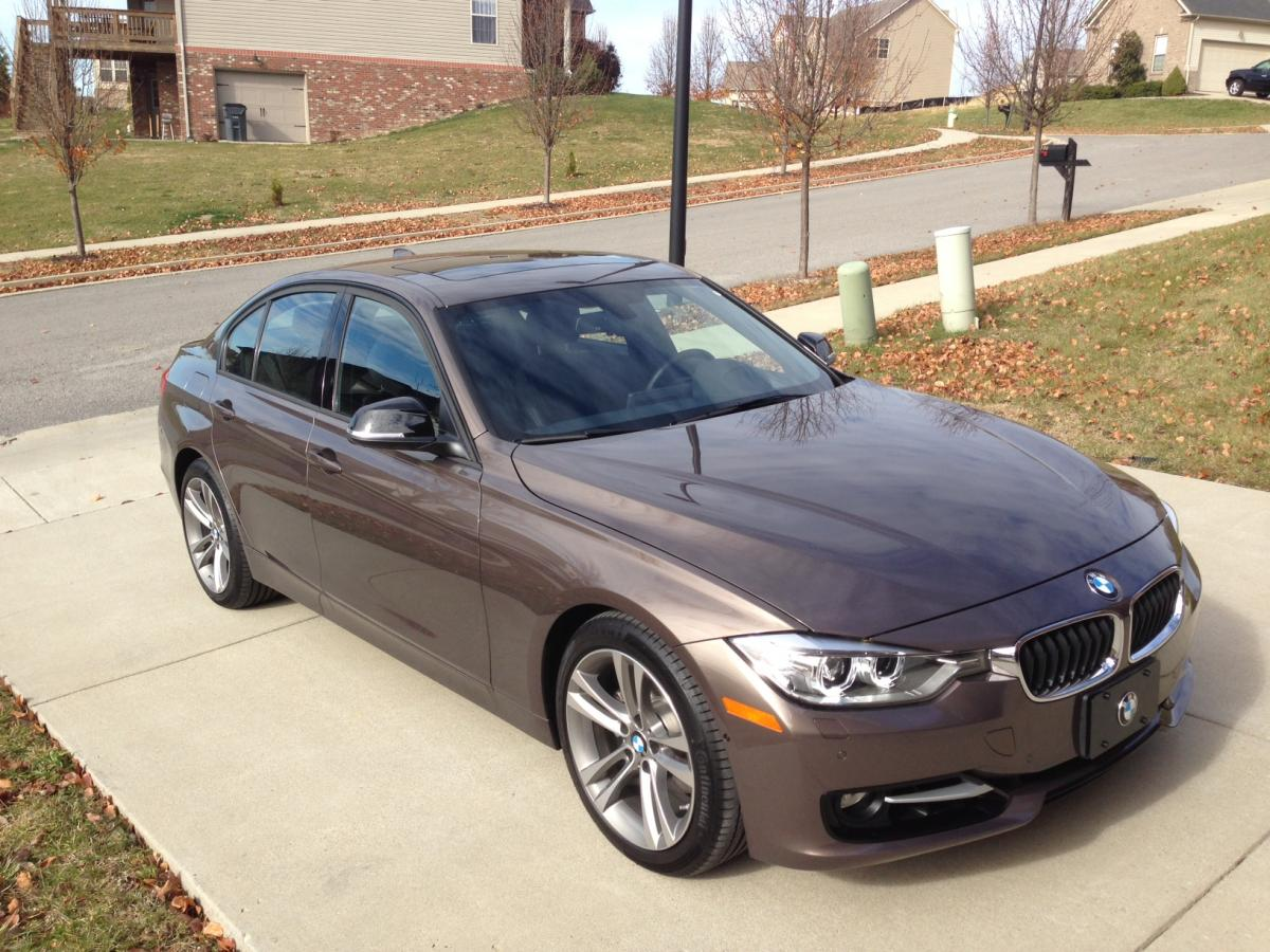 BMW F30 3 series Sparkling Bronze