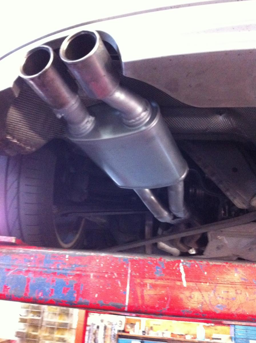 Z4 Roadster (E85) Budget Exhaust Modification ideas