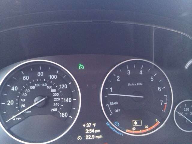 What Is This Green Warning Light Bimmerfest Bmw Forums