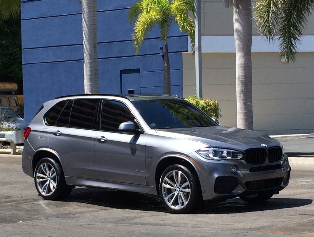 My 1st BMW X5 Space Grey Or Mineral White