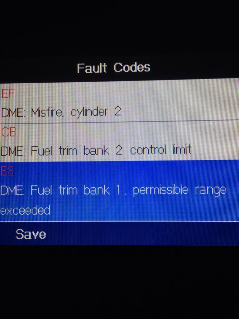 E39 Fuel Trim Bank 2