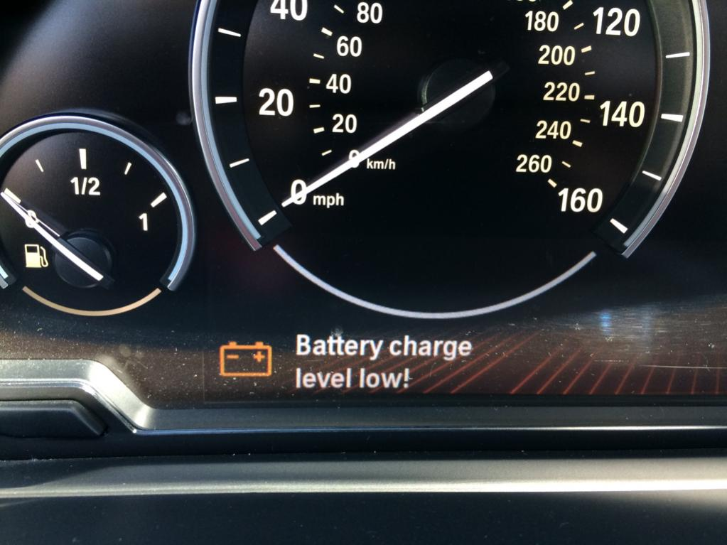 Battery Discharging while stopped
