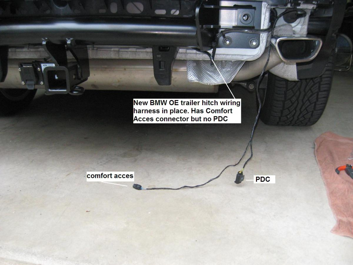 Need Help With E70 Lci Trailer Hitch Wiring Installation Bimmerfest Bmw Forum