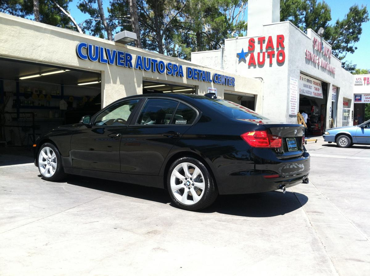 F30 BMW 3 series in Jet Black