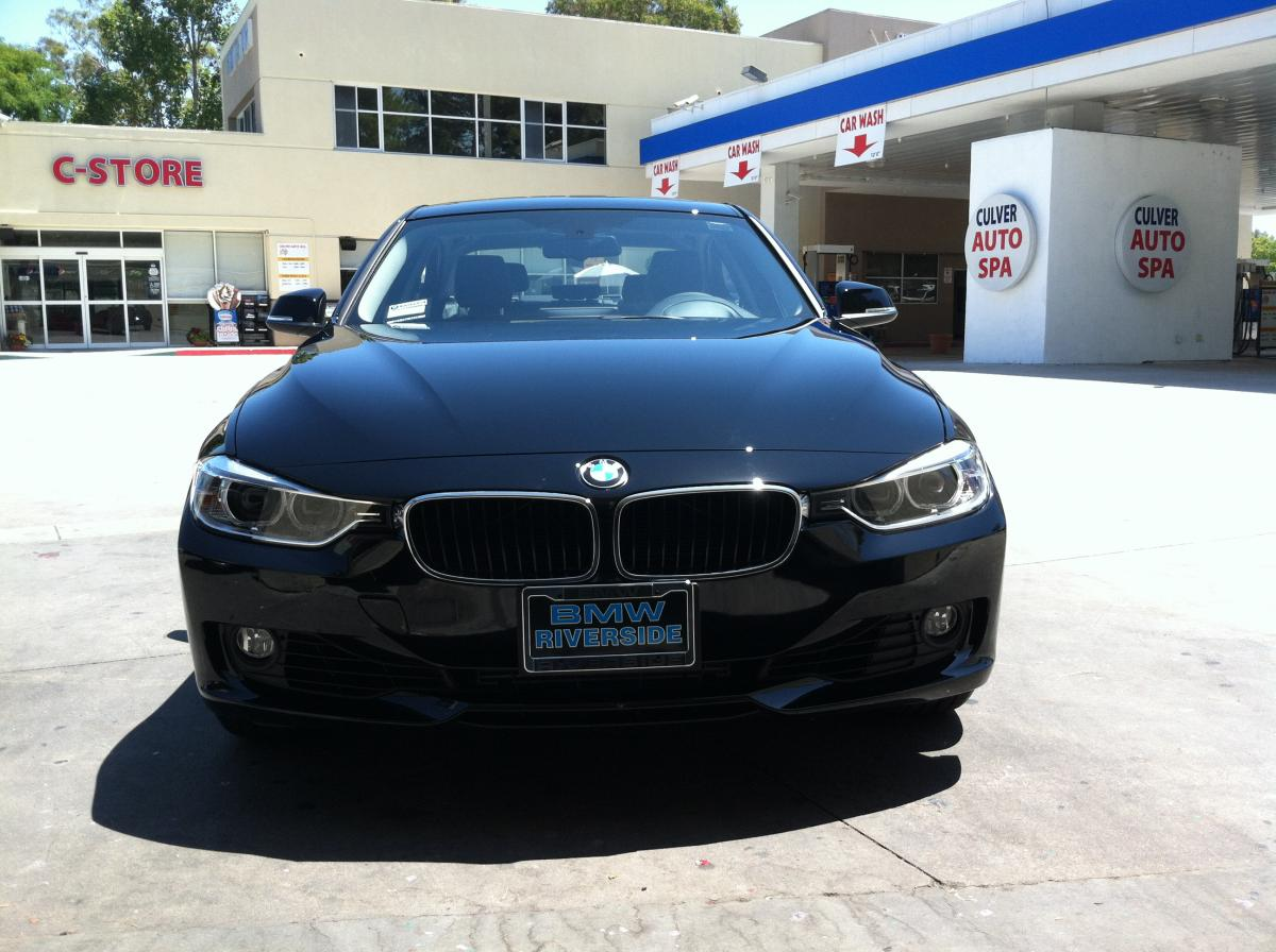 Jet Black F30 BMW 3 series
