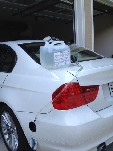 Does anyone carry AdBlue? - Bimmerfest - BMW Forums