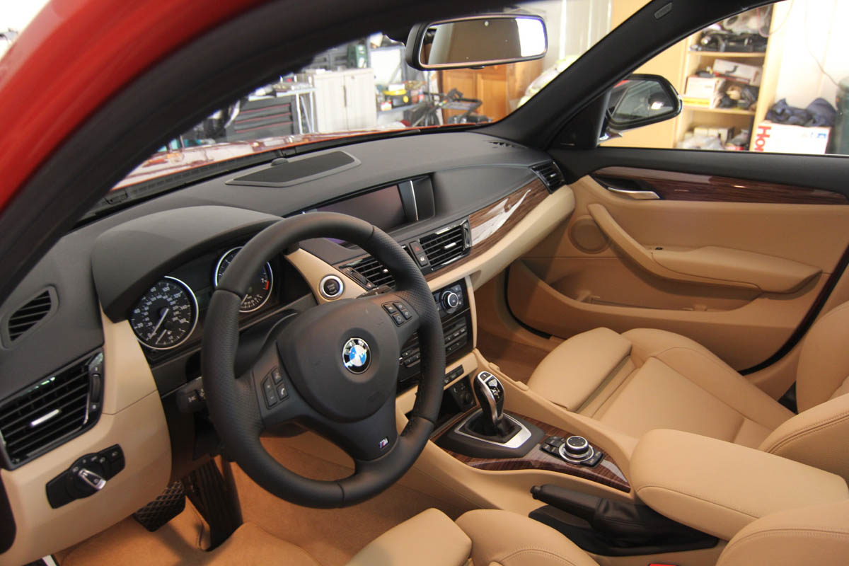 BMW X1 Sand Beige Nevada Leather