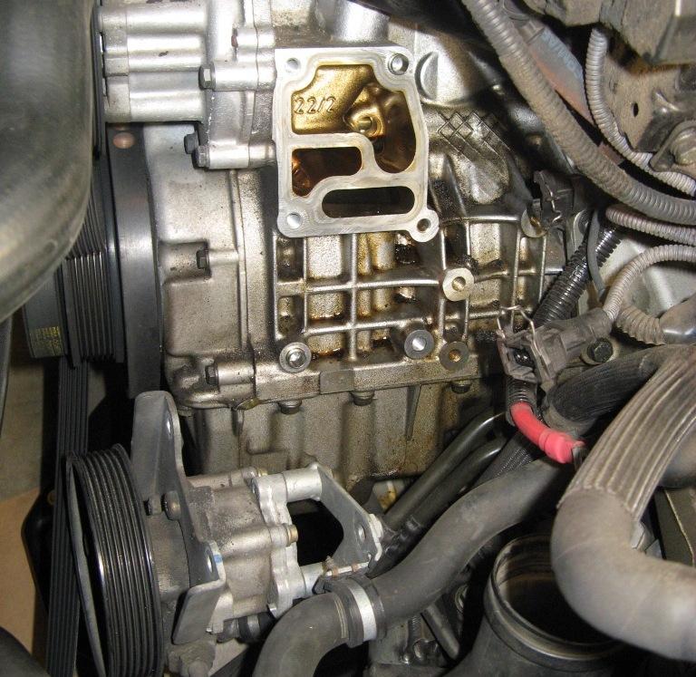 e39 530i oil filter housing