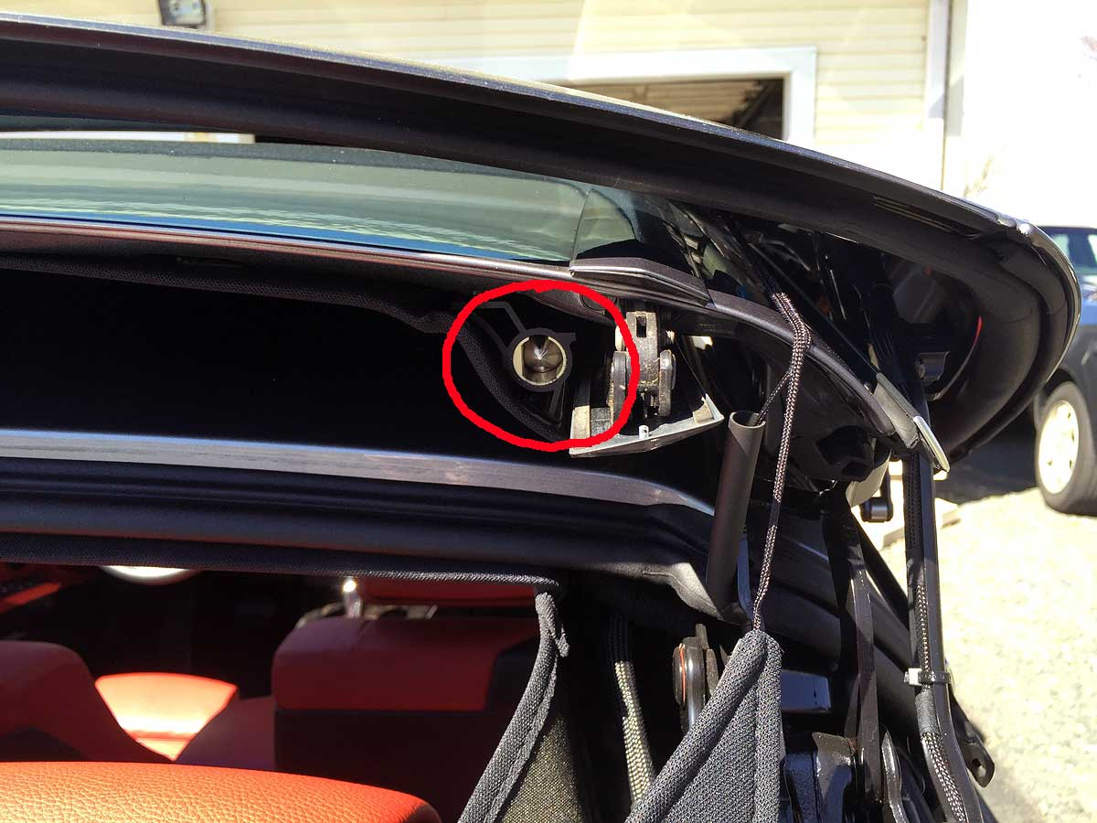 E93 convertible roof error message \'Roof movement impaired ...
