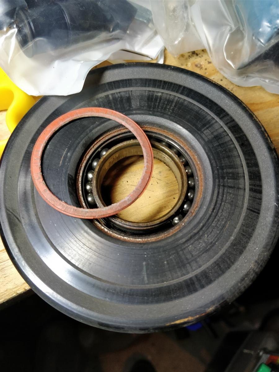 Ac compressor pulley/bearing/hub plate replacement DIY