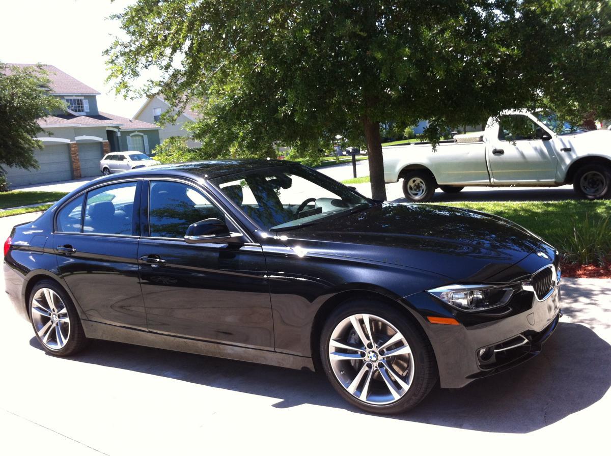 BMW F30 3 series Black Sapphire