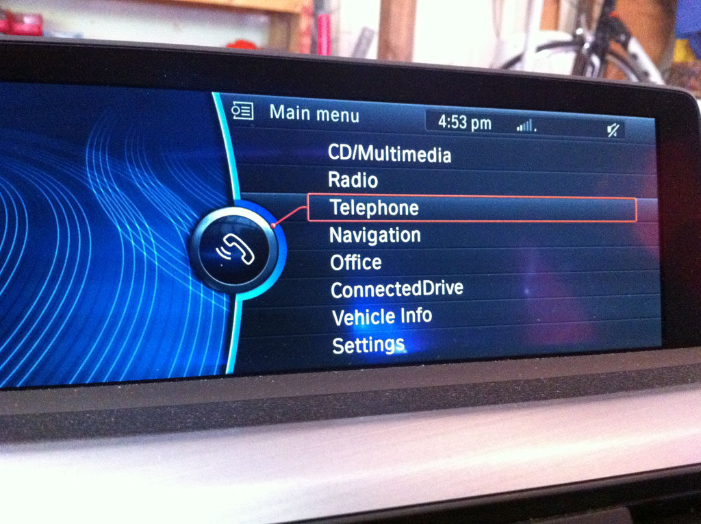 BMW F30 3 series iOS6 integration review