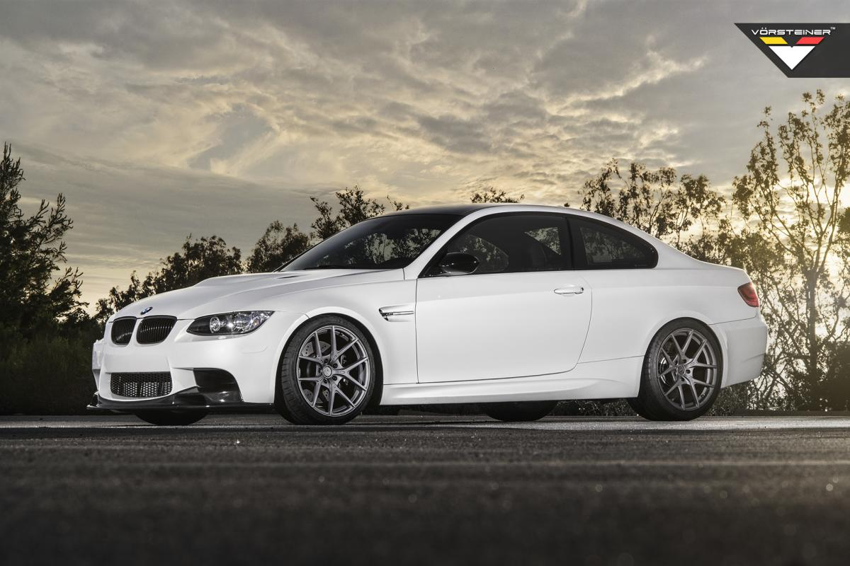 BMW M3 Vorsteiner Flor forged rims