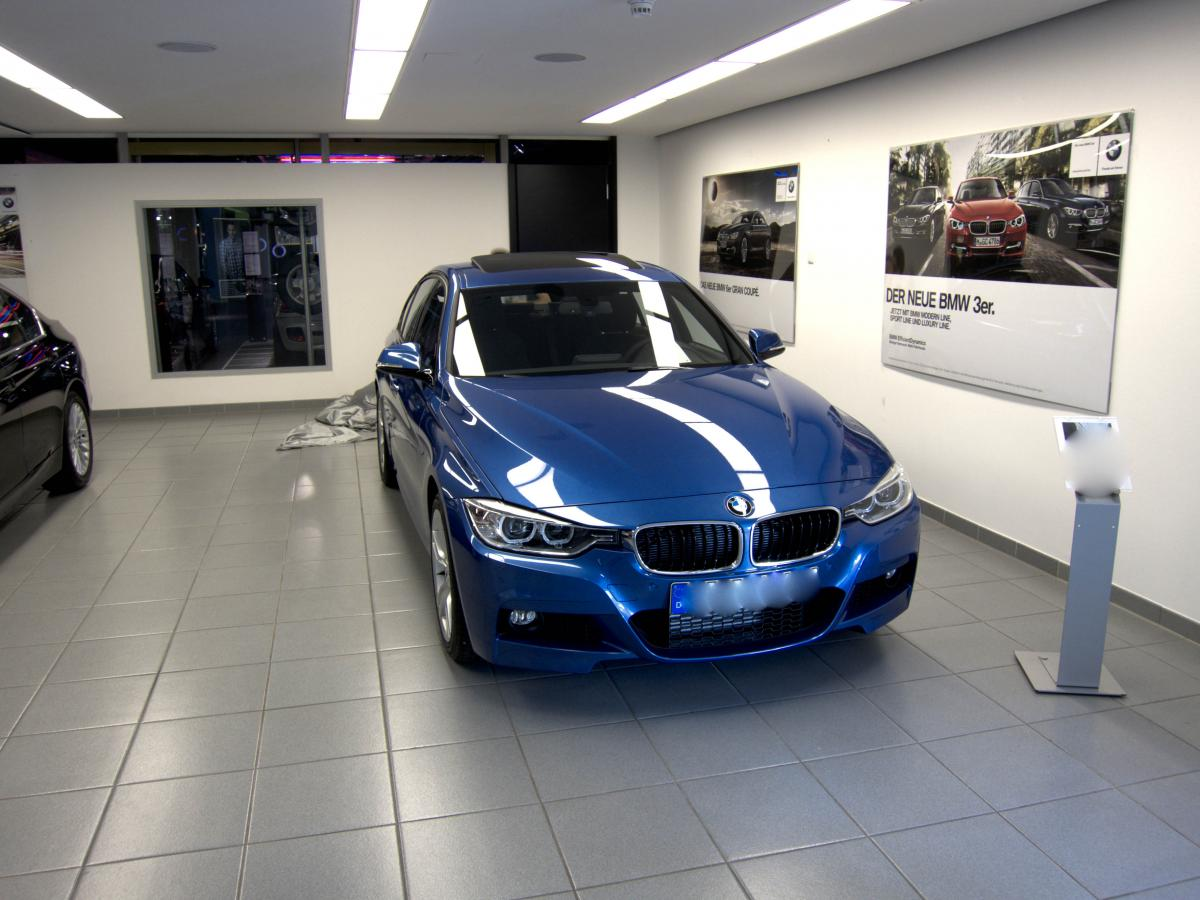 F30 M sport in Estoril Blue