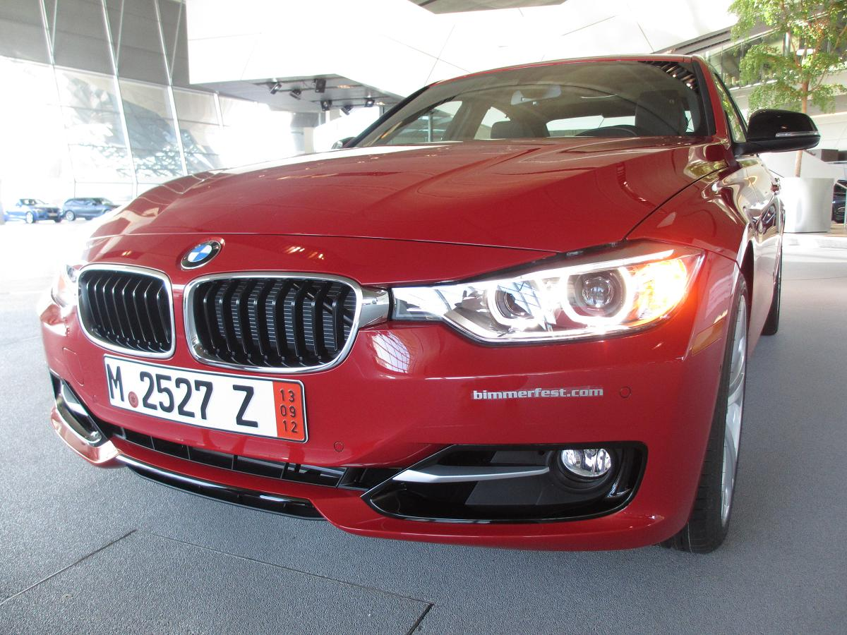 BMW F30 3 series European Delivery