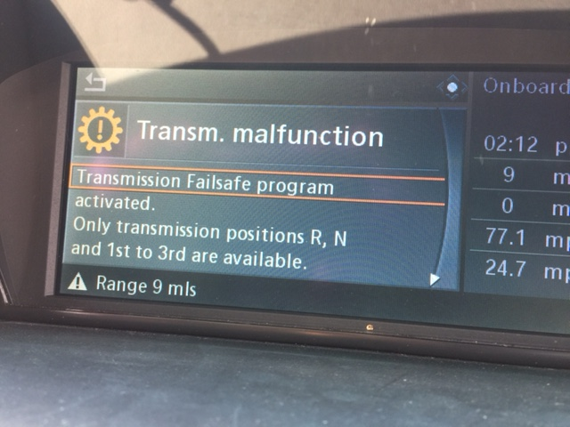 Is my SMG transmission about to crap out? - Bimmerfest - BMW Forums