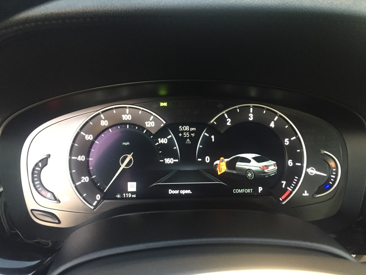 When will US get the full digital speedometer ...
