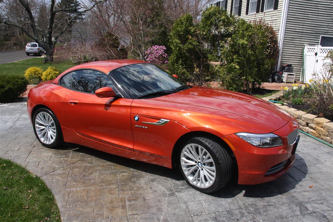 My 2014 Valencia Orange Z 4 Has Arrived Bimmerfest Bmw