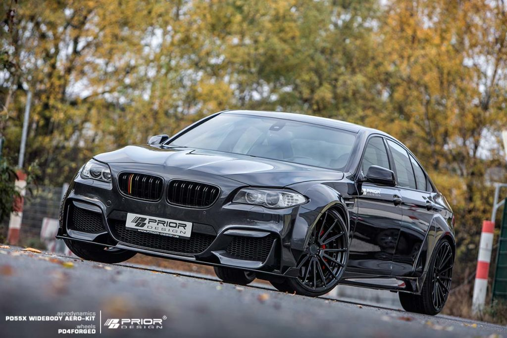 The F10 5 Series goes widebody. BMW News at Bimmerfest.com