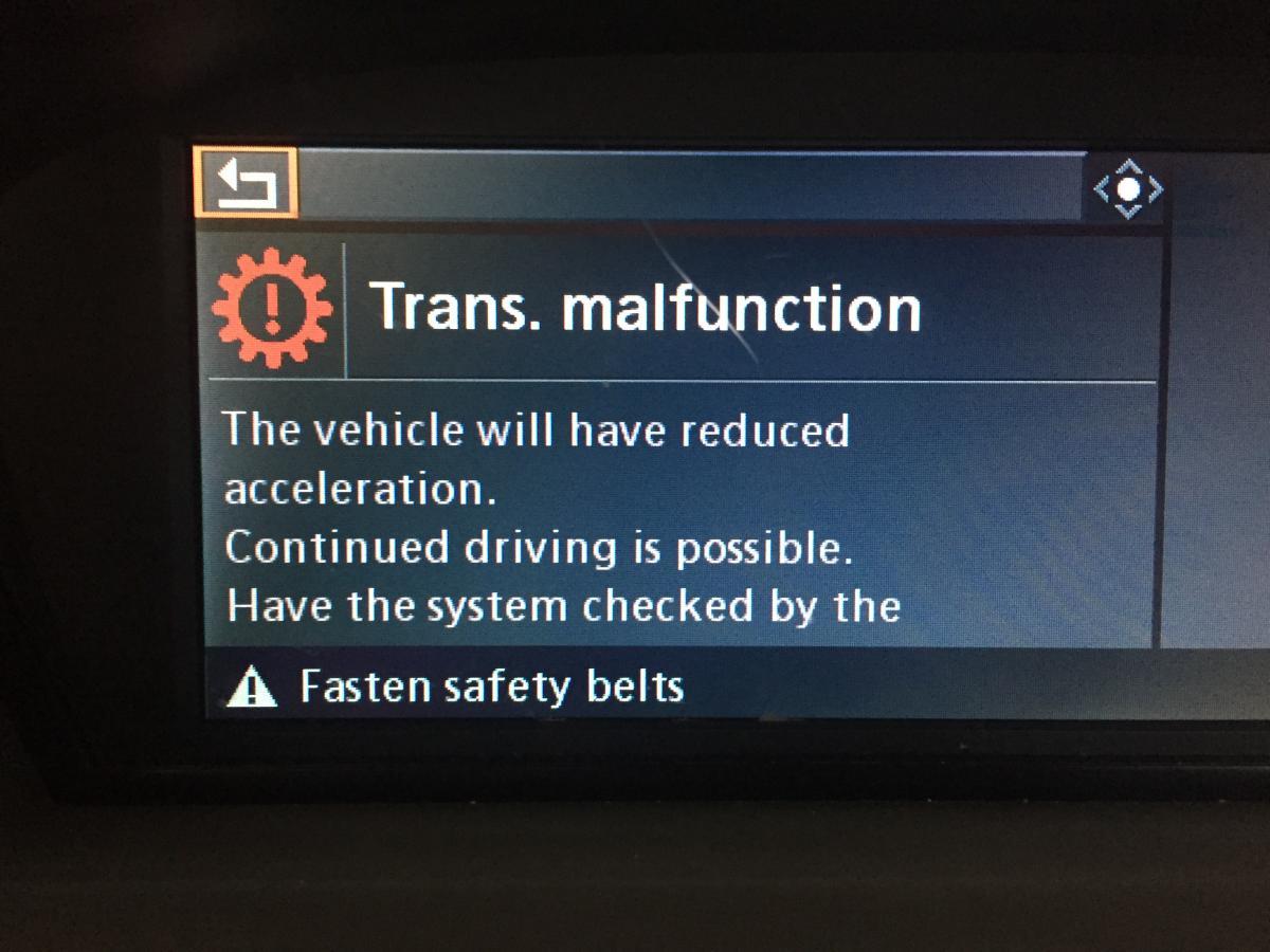 Transmission malfunction trilogy - Bimmerfest - BMW Forums