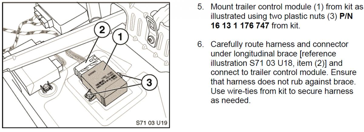 trailer hitch wiring harness - Bimmerfest - BMW Forums