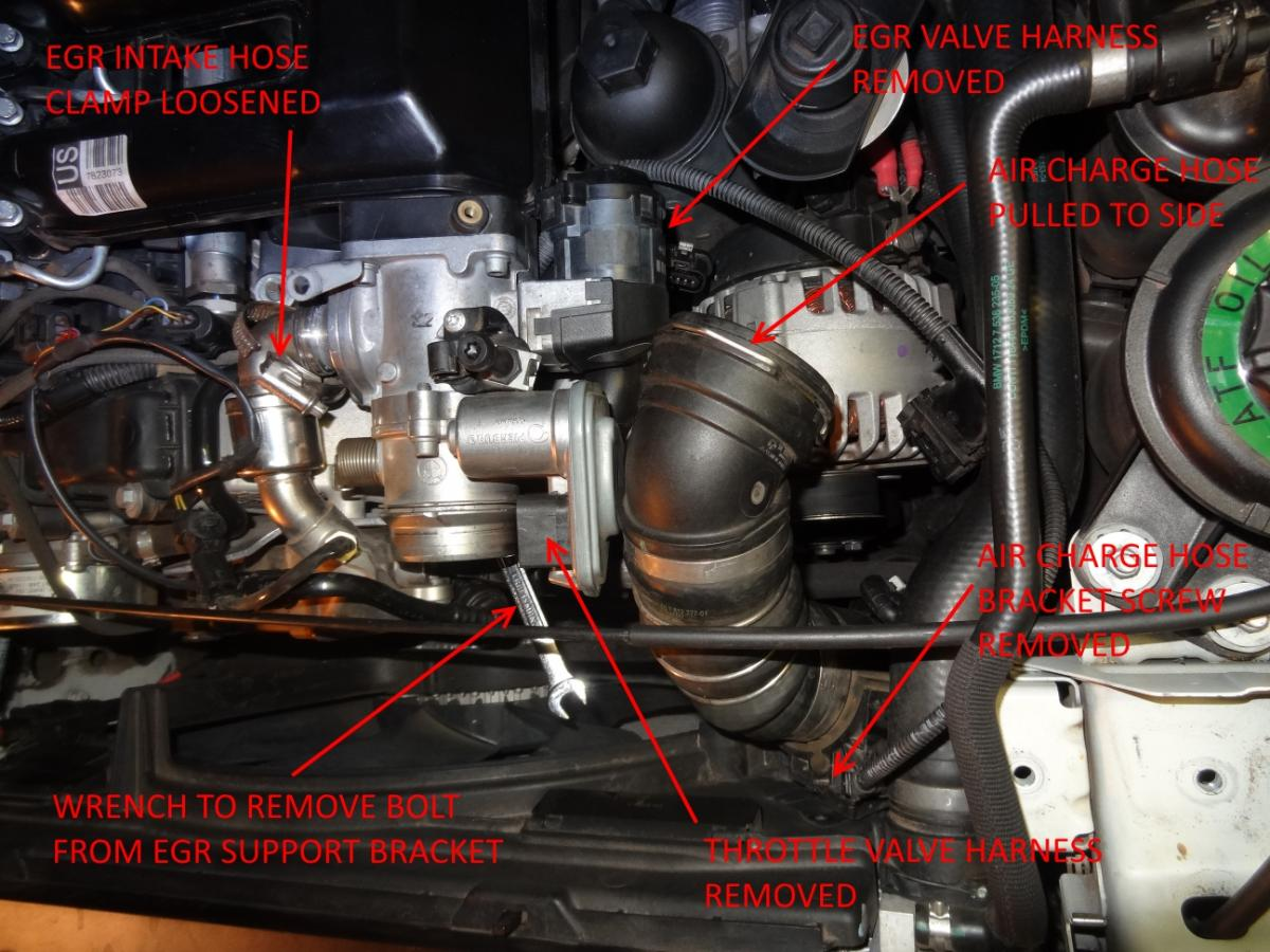 Carbon Build Up (CBU) on E70 35d w/ 72k + Fault Code 46B7