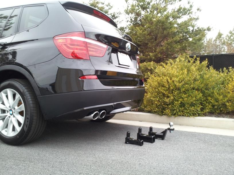 X1 aftermarket towing hitch - Bimmerfest - BMW Forums
