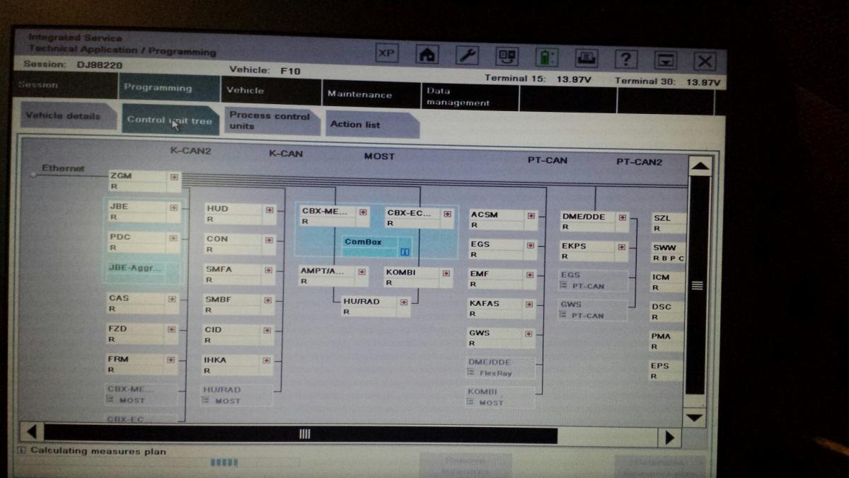 Programming F10 With Ista P Something Not Right Bimmerfest Bmw Forums