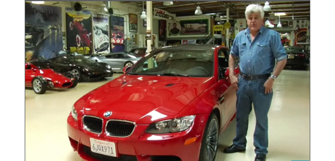 Jay Leno's review of the 2011 M3
