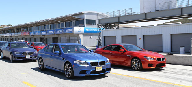 Photos from Laguna Seca Press Launch of M5 Sedan, M6 Coupe and More