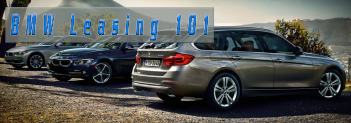 BMW leasing 101