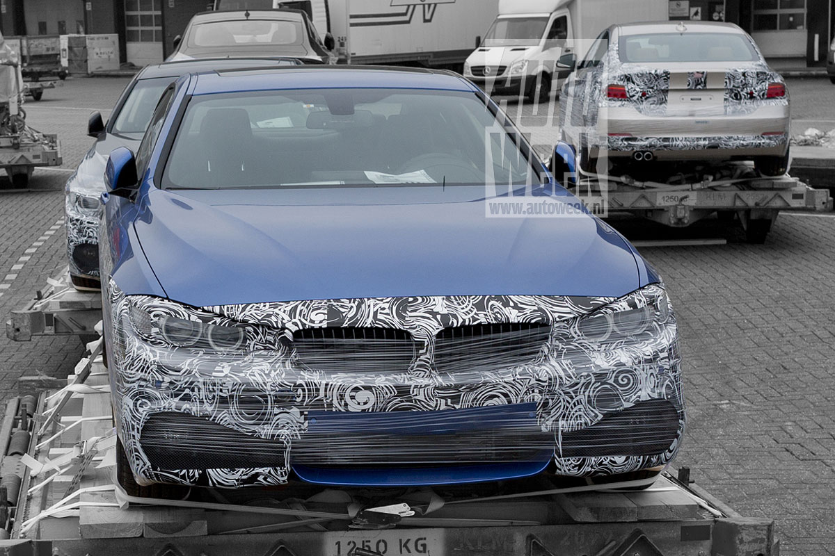 4 Series Coupe Spied