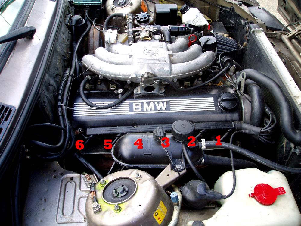 1989 325ic Spark plug wiring diagram | Bimmerfest BMWBimmerfest