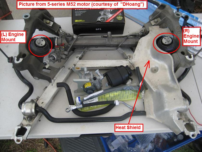Diy 1998 528i Engine Trans Mounts Replacement