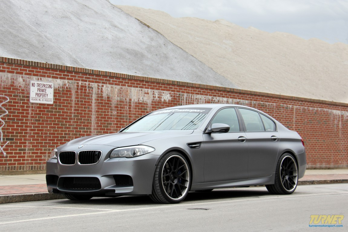 BMW M5 wheel upgrades