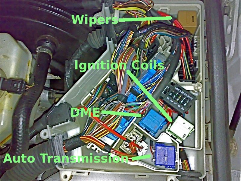 Bmw under hood fuse box i wiring