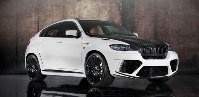 2010 BMW X6M pushing 670hp by Mansory