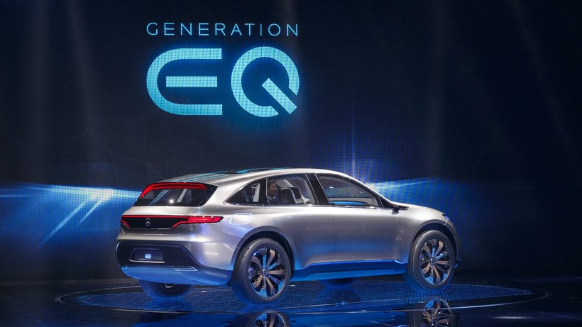 Mercedes EV will be built by 2020
