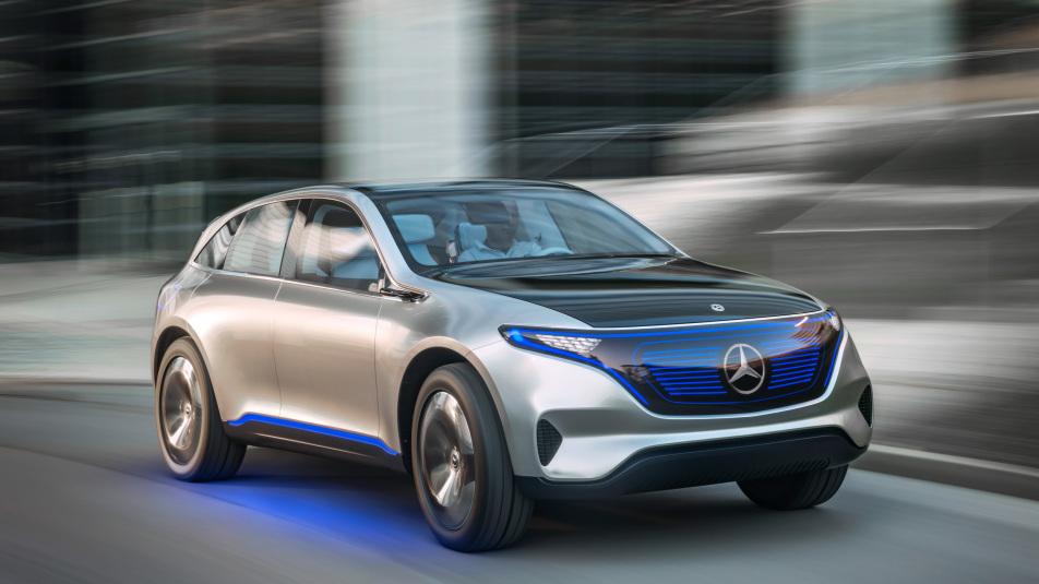 Mercedes EQ EV