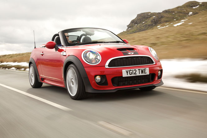 The MINI Cooper S Roadster What Car? Best Open Top for 2013