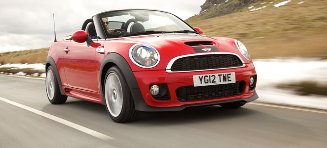 The MINI Cooper S Roadster What Car? Best Open Top 2013
