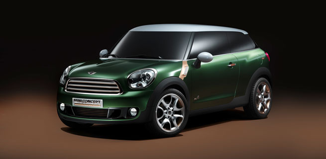 MINI Paceman - The Newest Member of the MINI Family