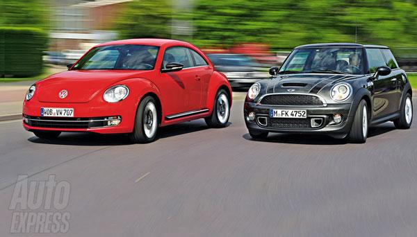 MINI VS. New VW Beetle