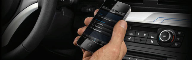 my BMW remote app